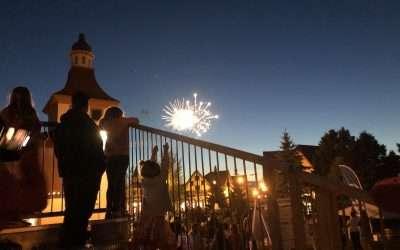 Zehnder's Fireworks Show